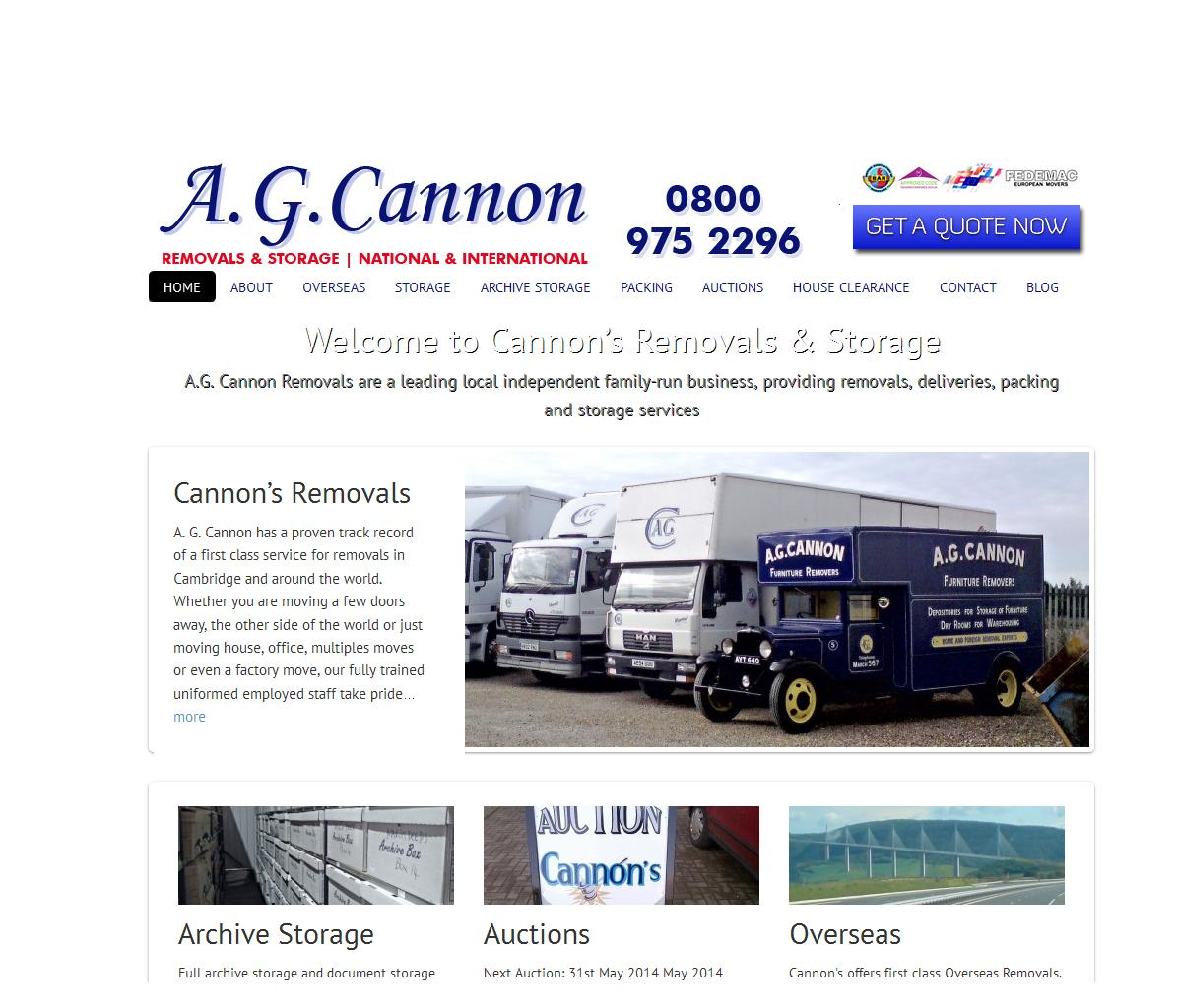A.G. Cannon Removals Photo