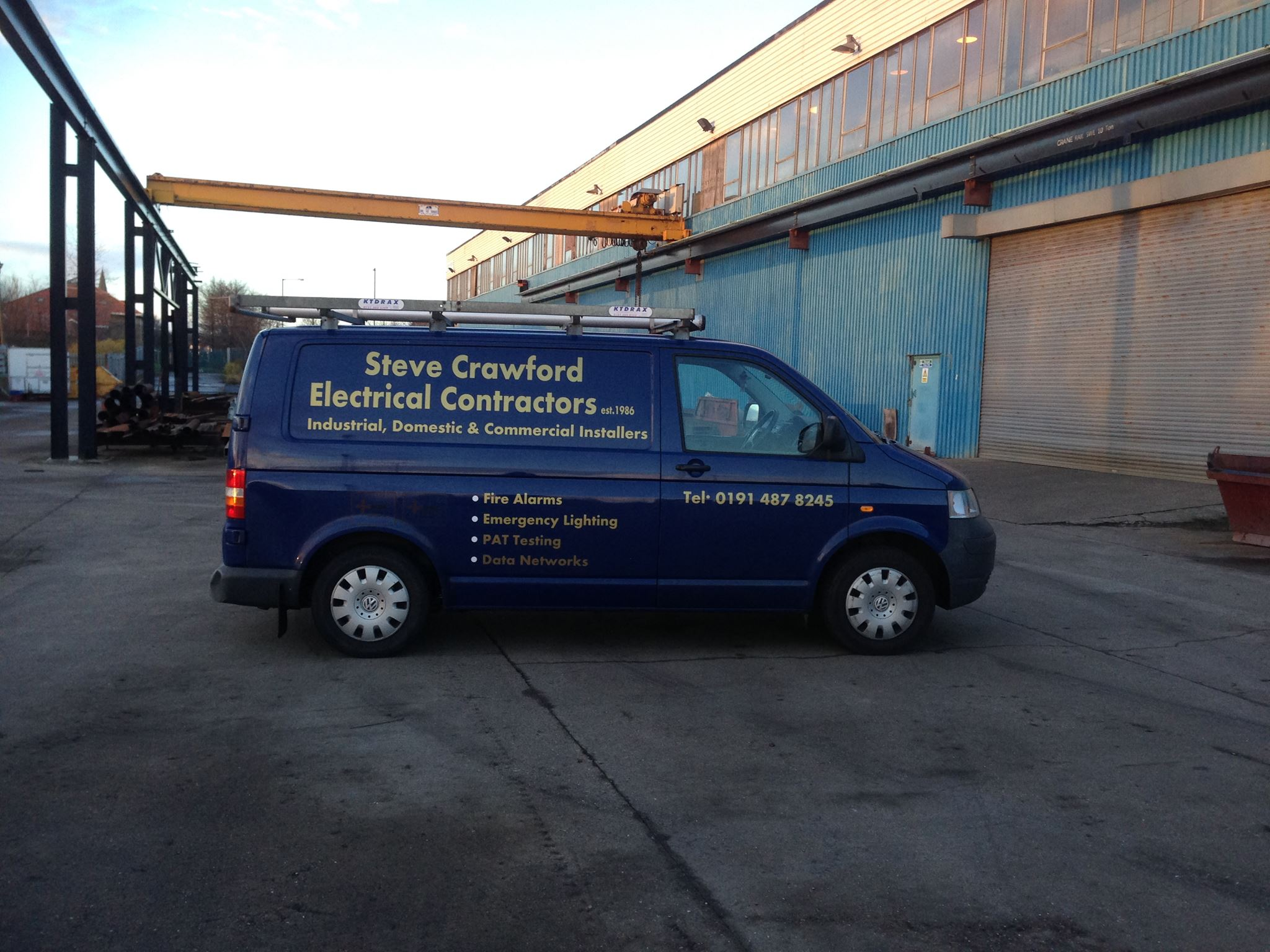 Steve Crawford Electrical Contractors Ltd Photo