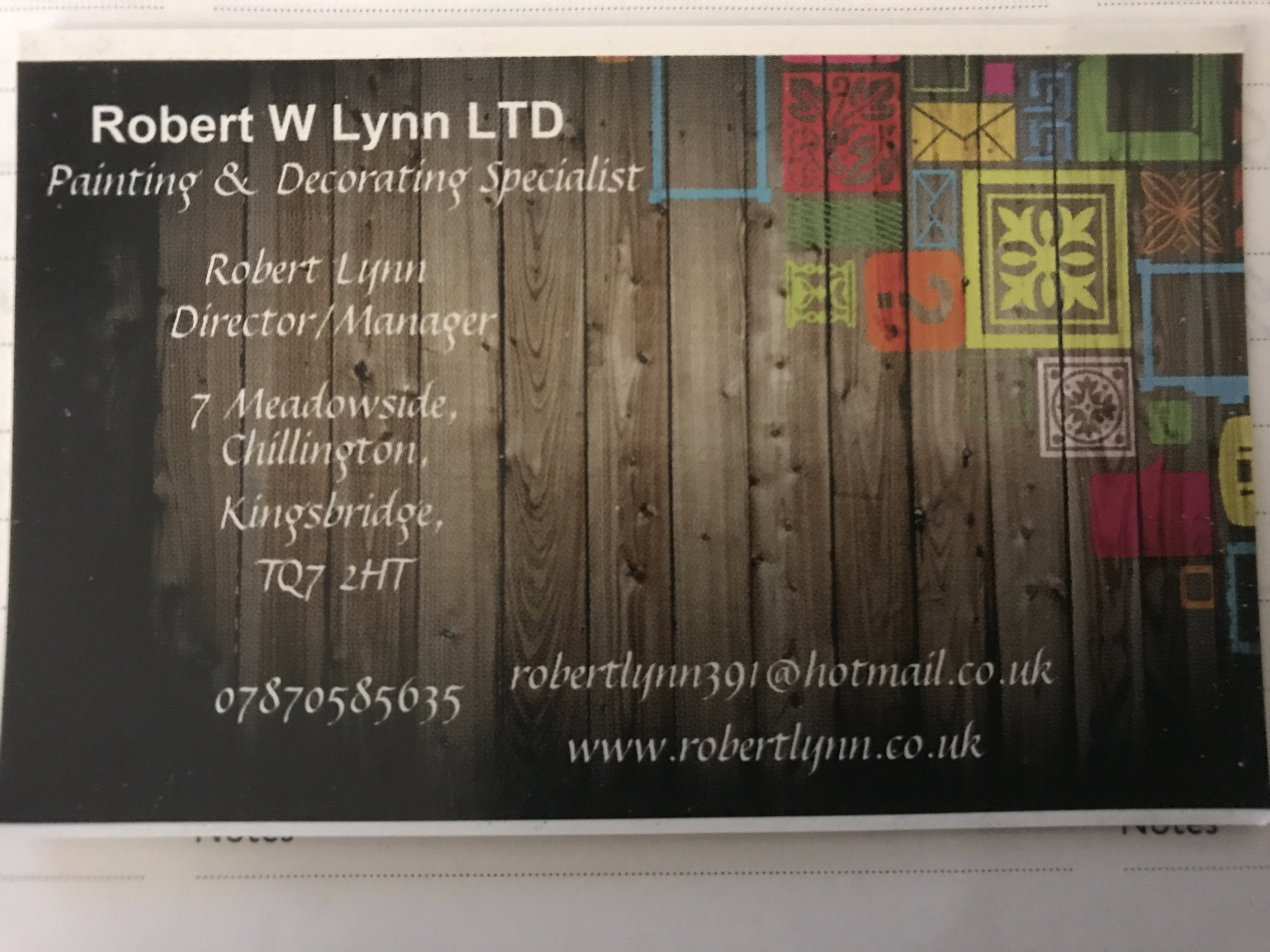 Robert W Lynn Ltd Photo